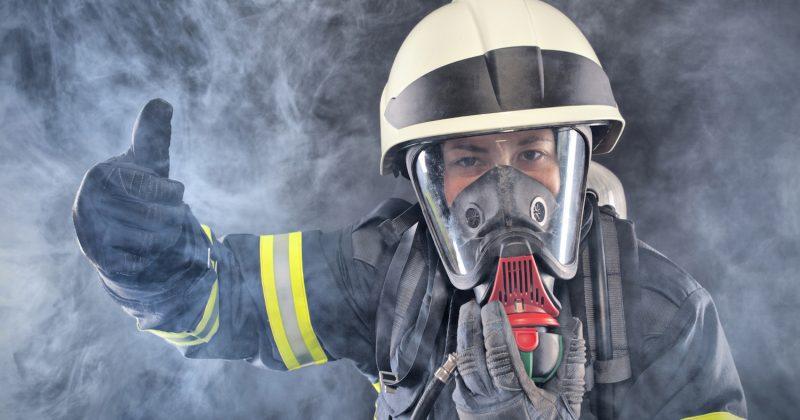 Тушение пожара аэрозольным веществом
